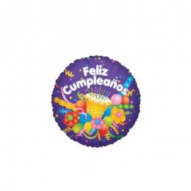 Globo pequeño cumpleaños