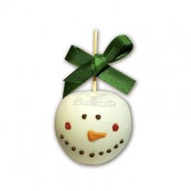 Manzana muñeco de nieve