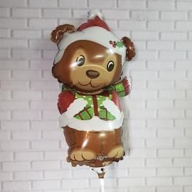 Globo mediano navidad oso